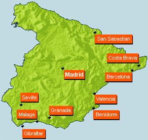 Погода в Испании по месяцам.
