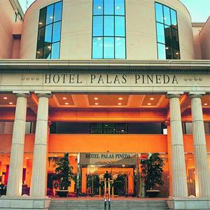 палас пинеда — отель в Испании