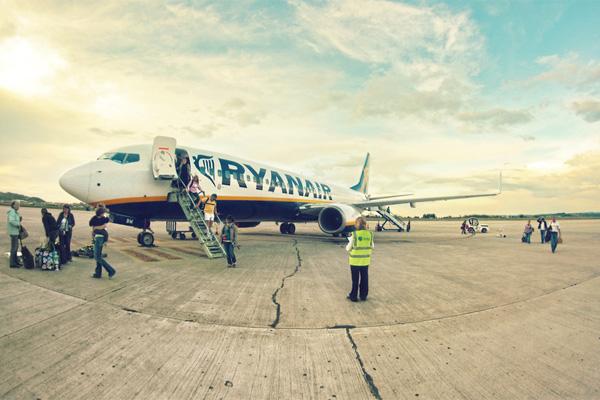 Испанские авиалинии - RyanAir
