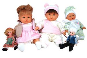 испанские куклы как маленькие живые детки