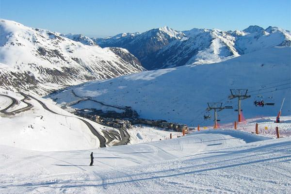 Серлер — рай для сноубордистов в Испании