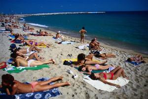 пляж mar bella барселона