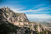 Экскурсия на гору Монтсеррат и бенедиктинский монастырь.