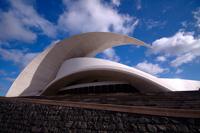 Аудиторио-де-Тенерифе спроектировано в виде волны.