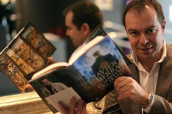 Книга Хавьера Сьерра наполнена фантазиями на тему искусства.