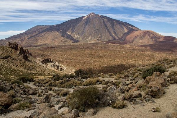 Вулкан Тейде — самая высокая точка всех Канарских островов.
