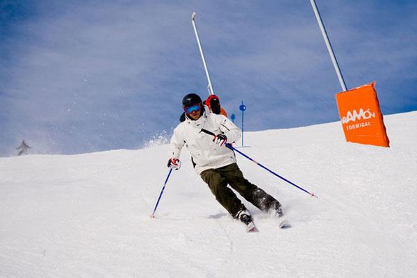 Горные лыжи в Испании.