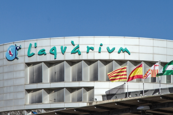 L'Aquàrium в Барселоне — один из крупнейших в мире Океанариумов.