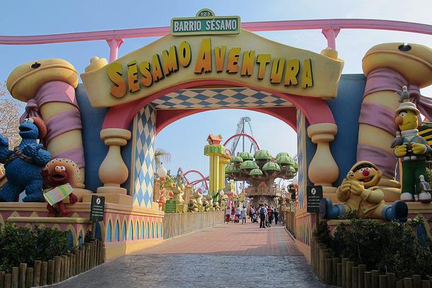 Порт Авентура — это испанский Диснейленд.