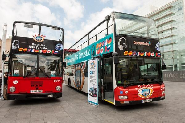 Билеты продаются на некоторых остановках или в самих автобусах.