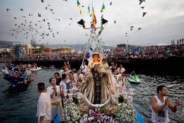 Праздник в честь Святой Девы дель Кармен.
