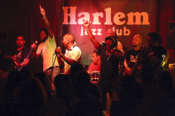 Джаз-клуб «Harlem».