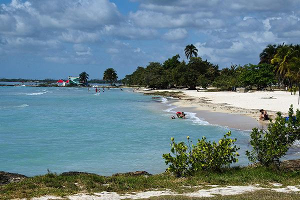 Playa Llarga.