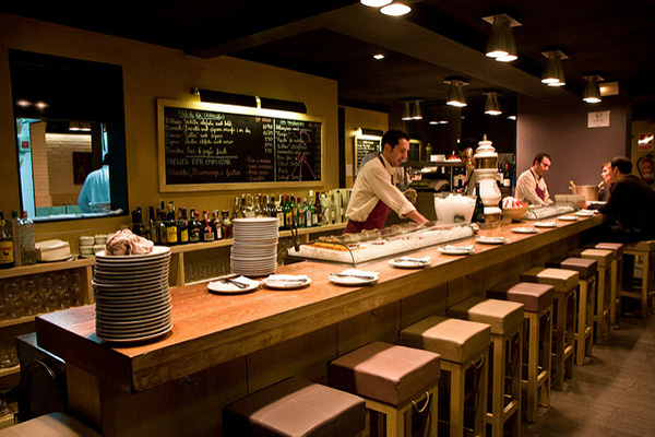 Ресторан Paco Meralgo.