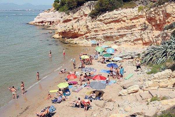 Playa Pena Talyada.