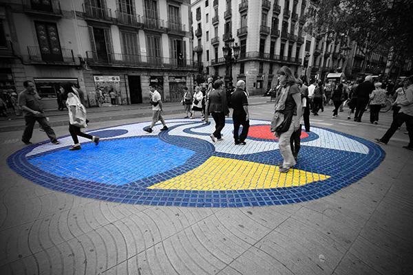 Площадь Pla de l'Os.