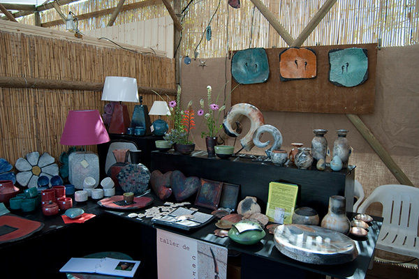Ярмарка керамики в Маррачи.