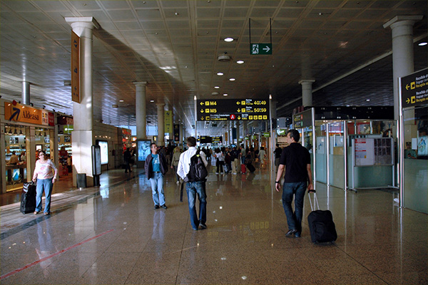 Аэропорт Эль Прат.