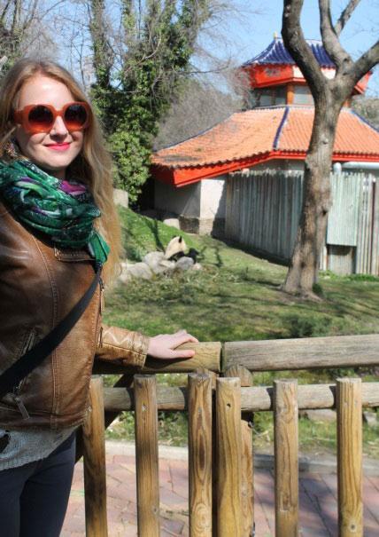 Животные мадридского зоопарка.