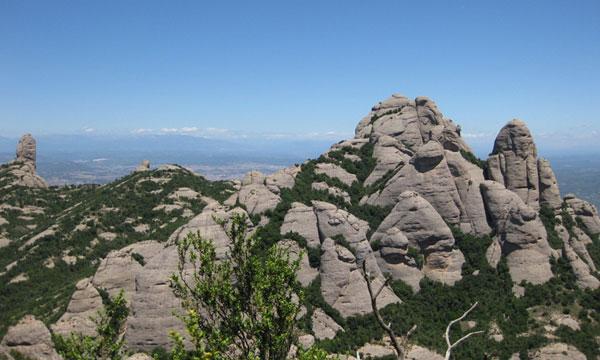 Вершина горы.