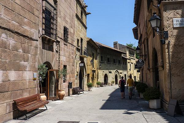 Испанская деревня.