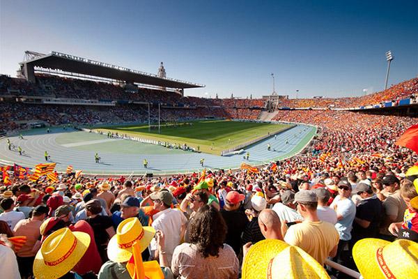 Олимпийский стадион имени Льюиса Компаниса.