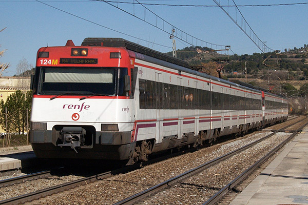 Поезд Renfe.