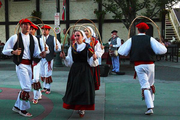 Баскский танец.