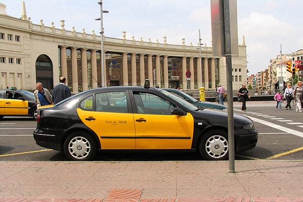 Такси Барселоны.