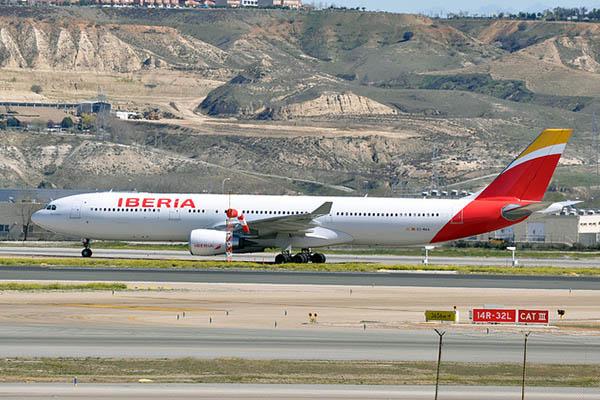 Самолёт компании Iberia.