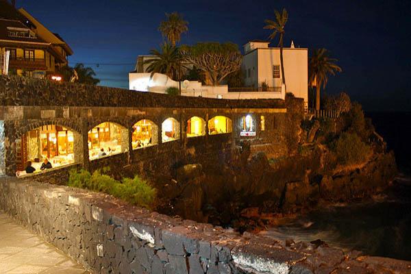 Ресторан Puerto de la Cruz.