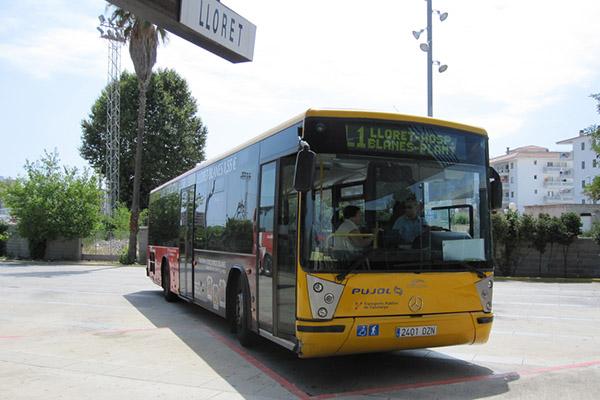 Автобус до Ллорета.