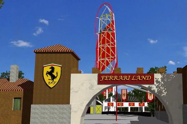 Добро пожаловать в «Ferrari Land»!