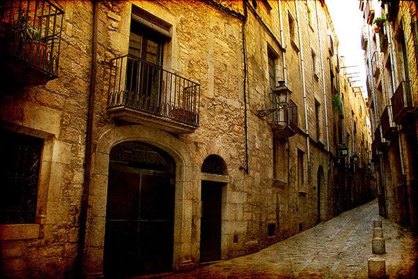 Улица Старого города.