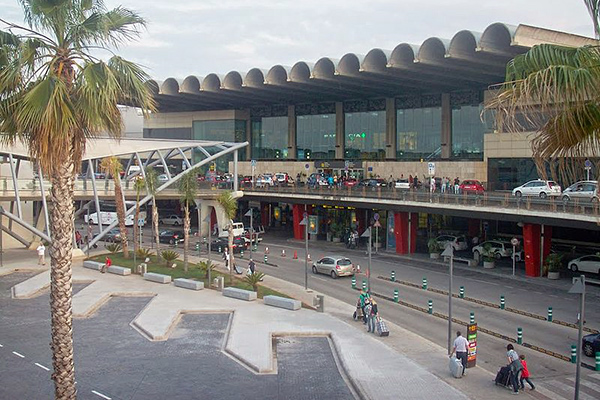Valencia Airport.