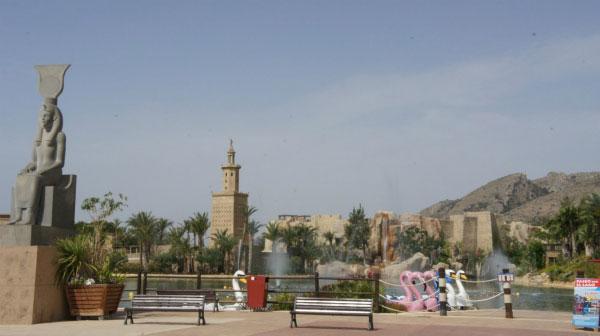 Тематическая зона Египет.