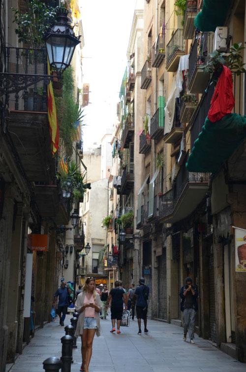 Улица Барселоны.