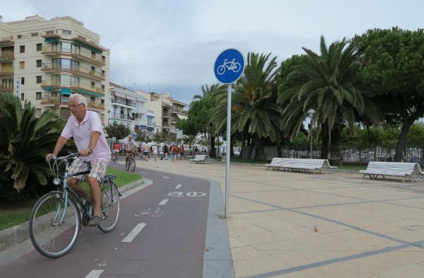 Дорожка для велосипедистов.
