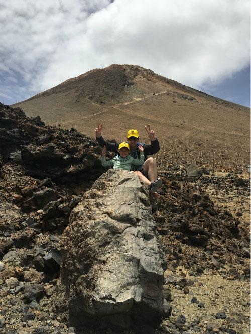 Поездка к вулкану.