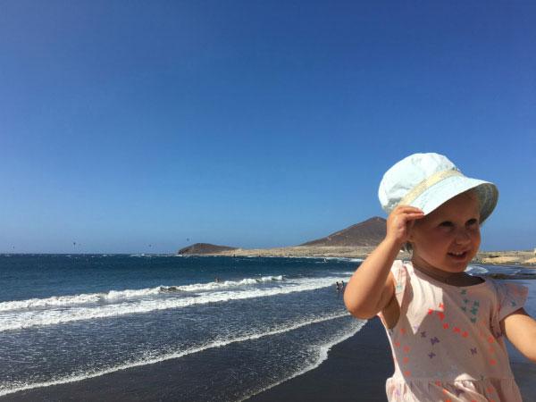 Красивый пляж.