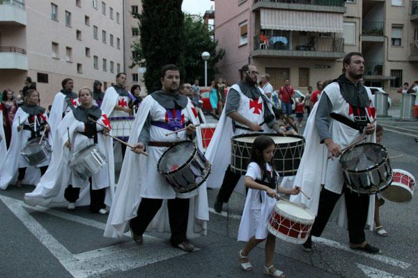 Шествие барабанщиков.