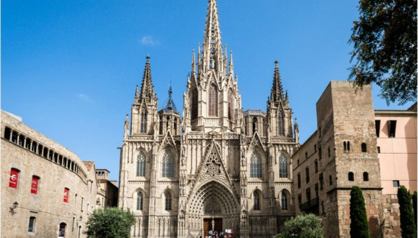 Собор Святого Креста и Святой Евлалии.