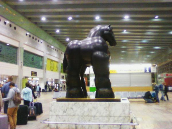 Украшение аэропорта.