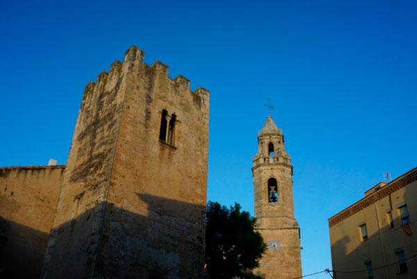 Средневековое здание.