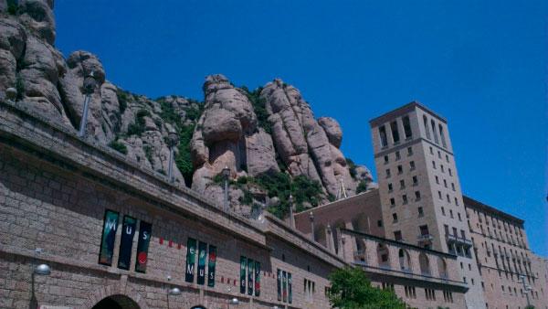 Посещение монастыря Монсеррат.