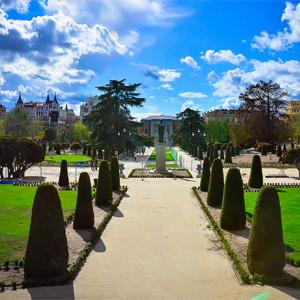 Парк Buen Retiro в Мадриде