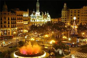 Plaza del Ayuntamiento в Валенсии