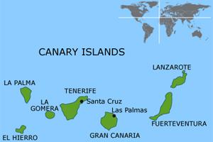 Погода на Канарских островах по месяцам