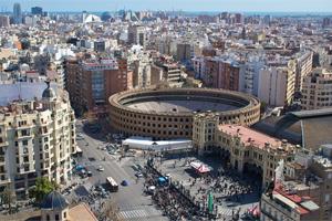 Плаза де Торос – важная национальная достопримечательность в Валенсии