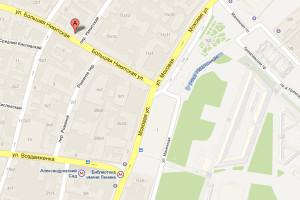 Посольство Испании на карте Москвы